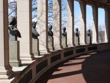The Hall of Fame for Great Americans: Emerson, Irving and Washington