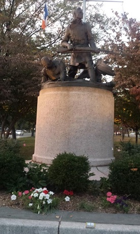 The Doughboy Monument